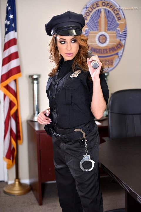 21Sextury 'Officer Kinky!' starring Christiana Cinn (Photo 1)