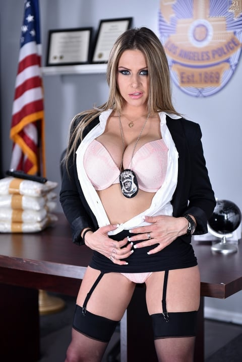 21Sextury 'The Woman Behind the Badge' starring Rachel Roxxx (Photo 36)