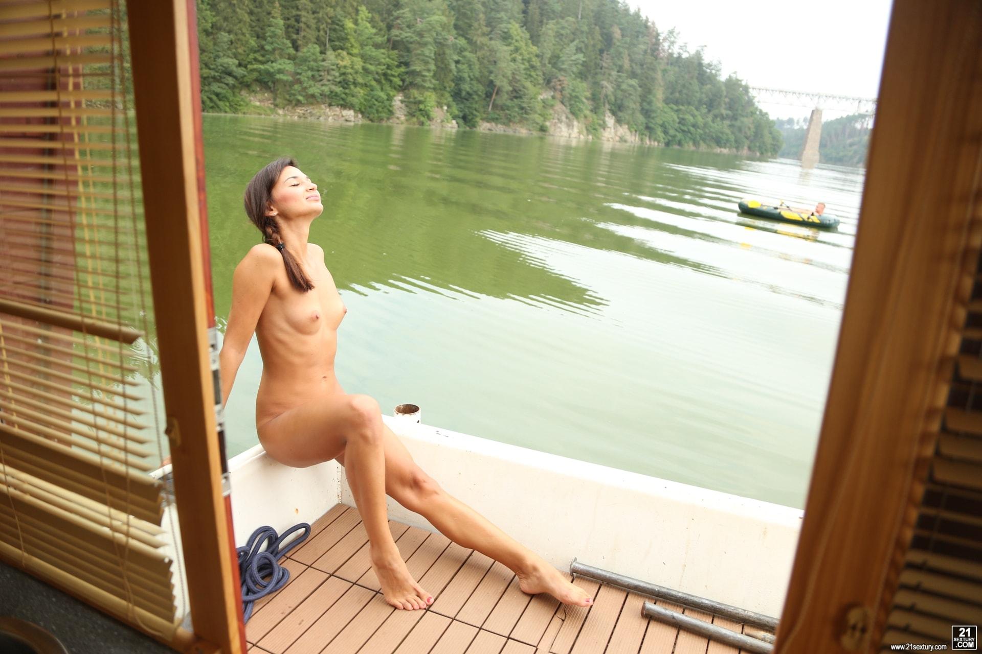 21Sextury 'No Tan Lines' starring Adela (Photo 2)