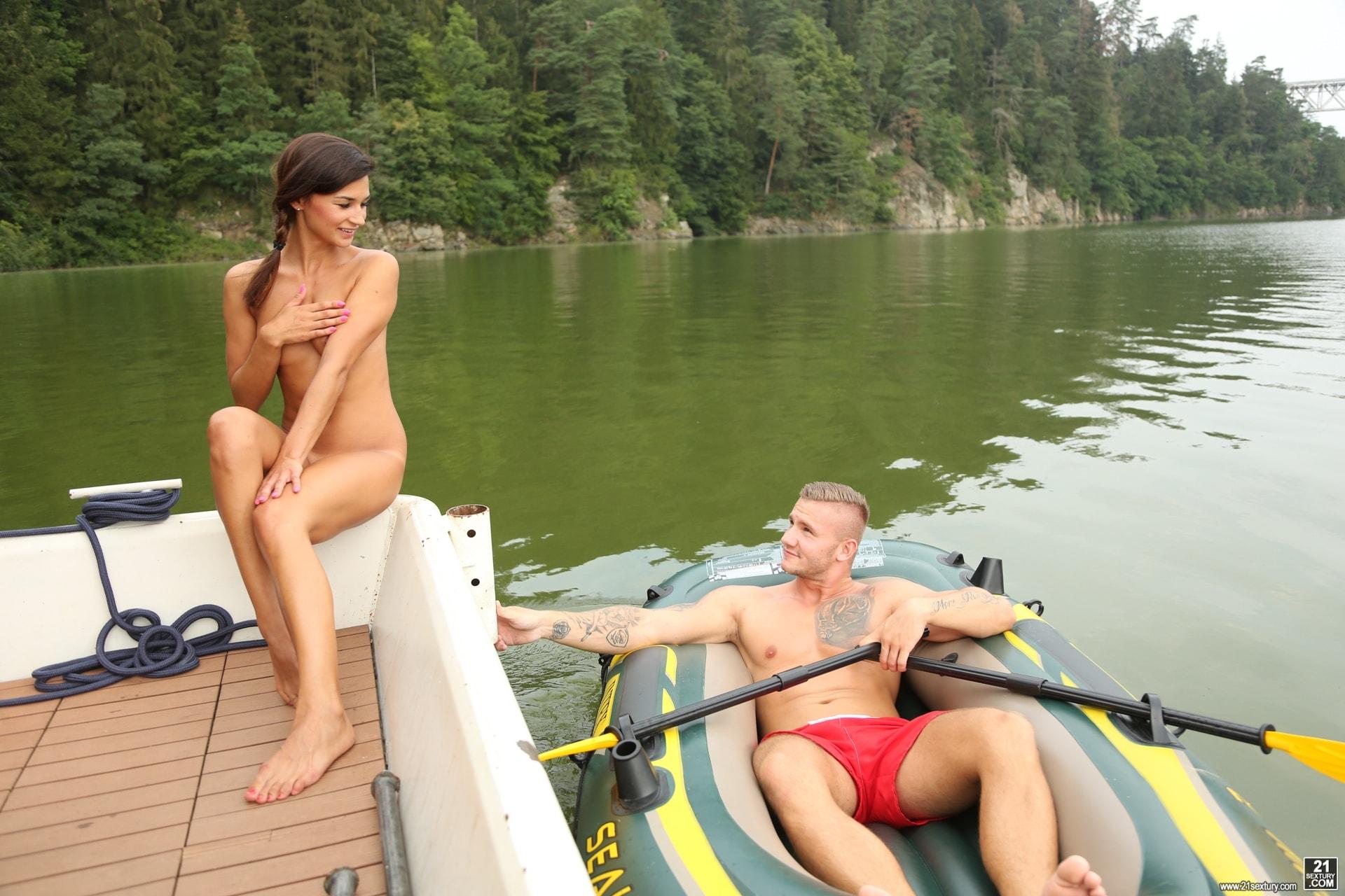 21Sextury 'No Tan Lines' starring Adela (Photo 5)