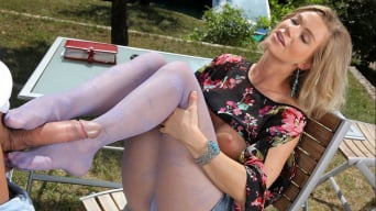 Ally in 'Please Fuck My Feet'