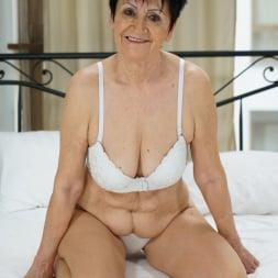 Anastasia in '21Sextury' Granny's White Lingerie (Thumbnail 1)