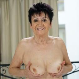 Anastasia in '21Sextury' Granny's White Lingerie (Thumbnail 8)