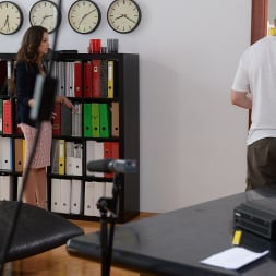 Angelina Brill in '21Sextury' Backstage of 'Immigration Issues' (Thumbnail 3)