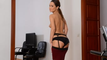 Angie Moon in 'Sexy Assistant Gets DP'