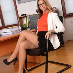 Ani Black Fox in '21Sextury' My Bosses DP'd Me At Work (Thumbnail 1)