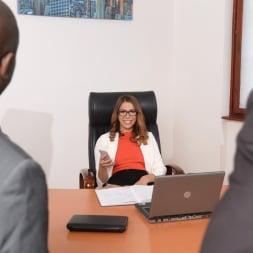Ani Black Fox in '21Sextury' My Bosses DP'd Me At Work (Thumbnail 60)