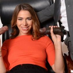 Ani Black Fox in '21Sextury' My Bosses DP'd Me At Work (Thumbnail 90)