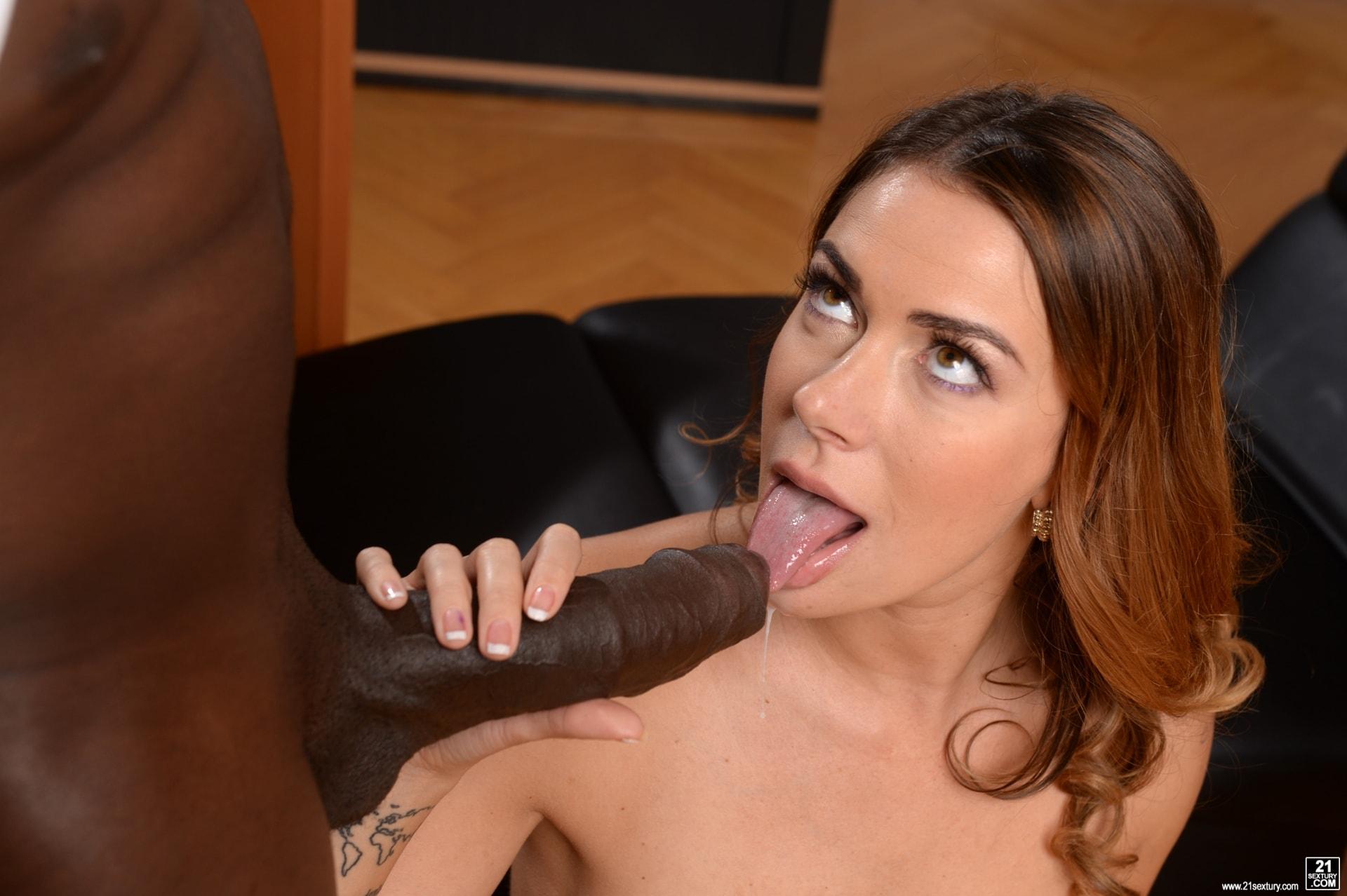 21Sextury 'My Bosses DP'd Me At Work' starring Ani Black Fox (Photo 225)