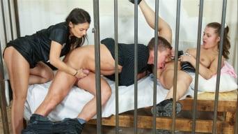 Anina Silk in 'Teenage Jailbirds'