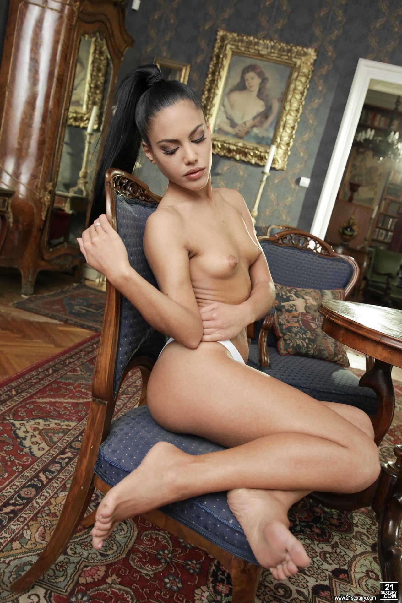 Apolonia Porno Trio ▷ apolonia lapiedra in naughty feet (photo 48) | 21sextury