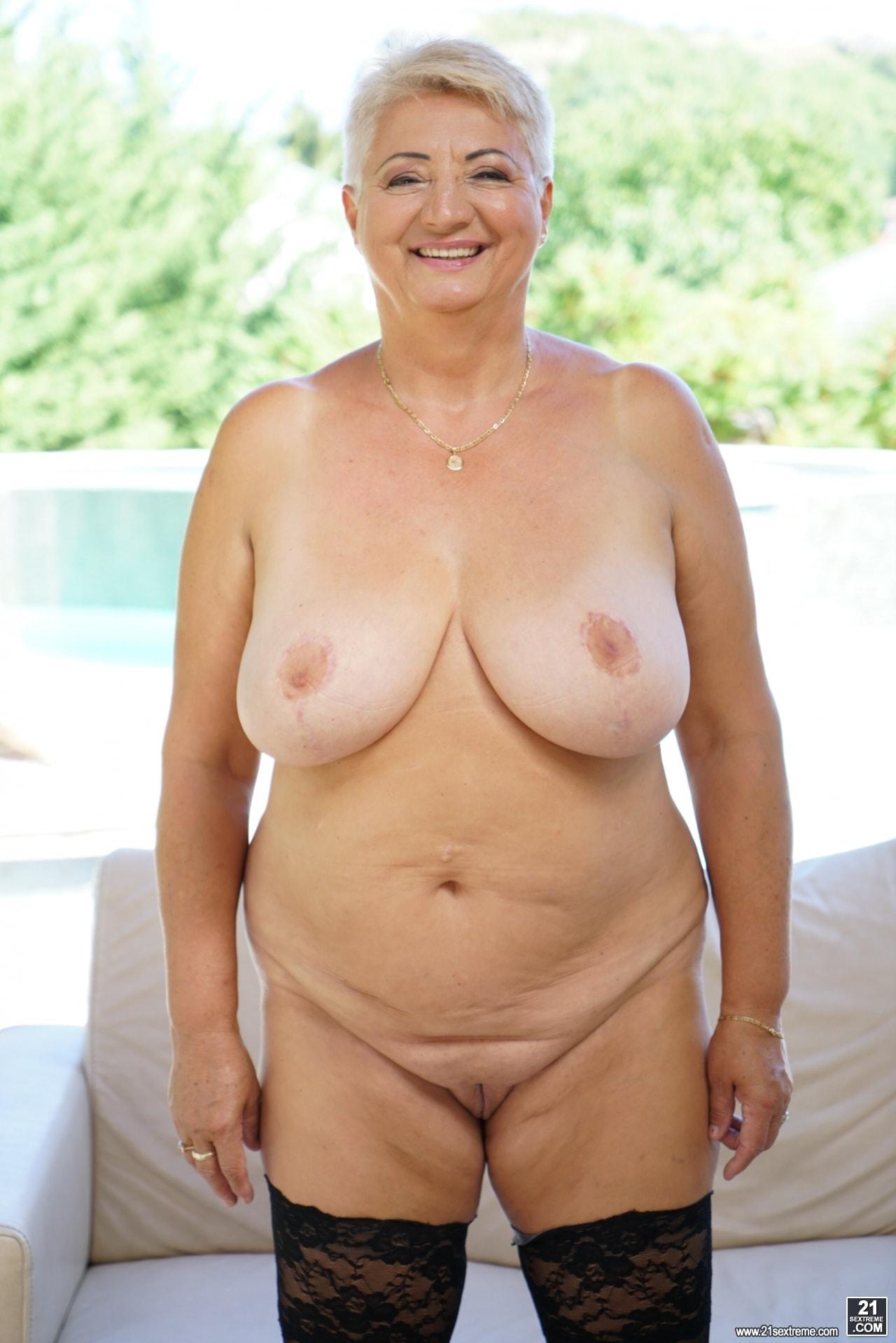 21Sextury 'Lusty Granny's Poolside Fuck' starring Astrid (Photo 18)