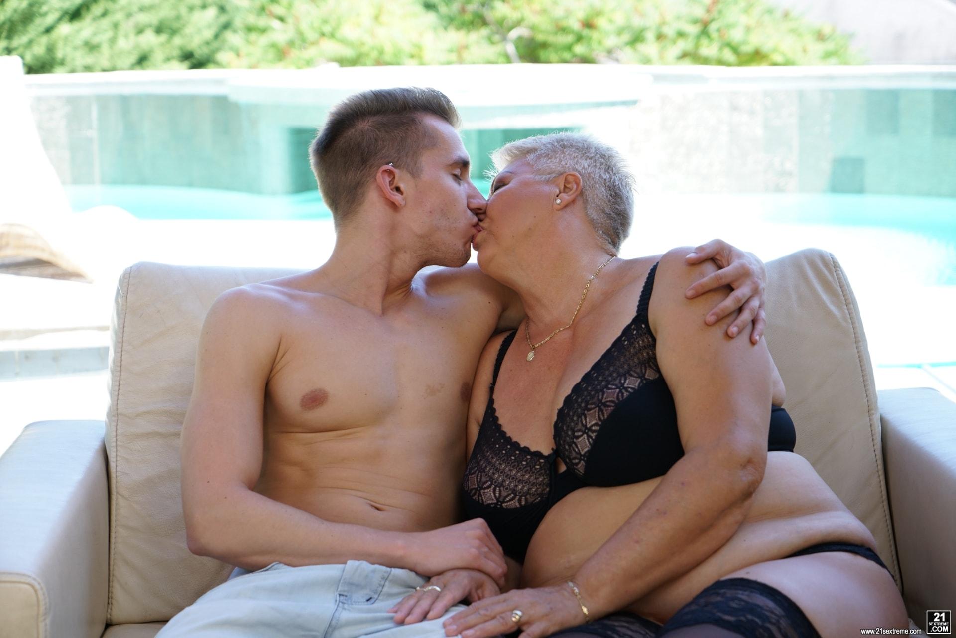 21Sextury 'Lusty Granny's Poolside Fuck' starring Astrid (Photo 54)