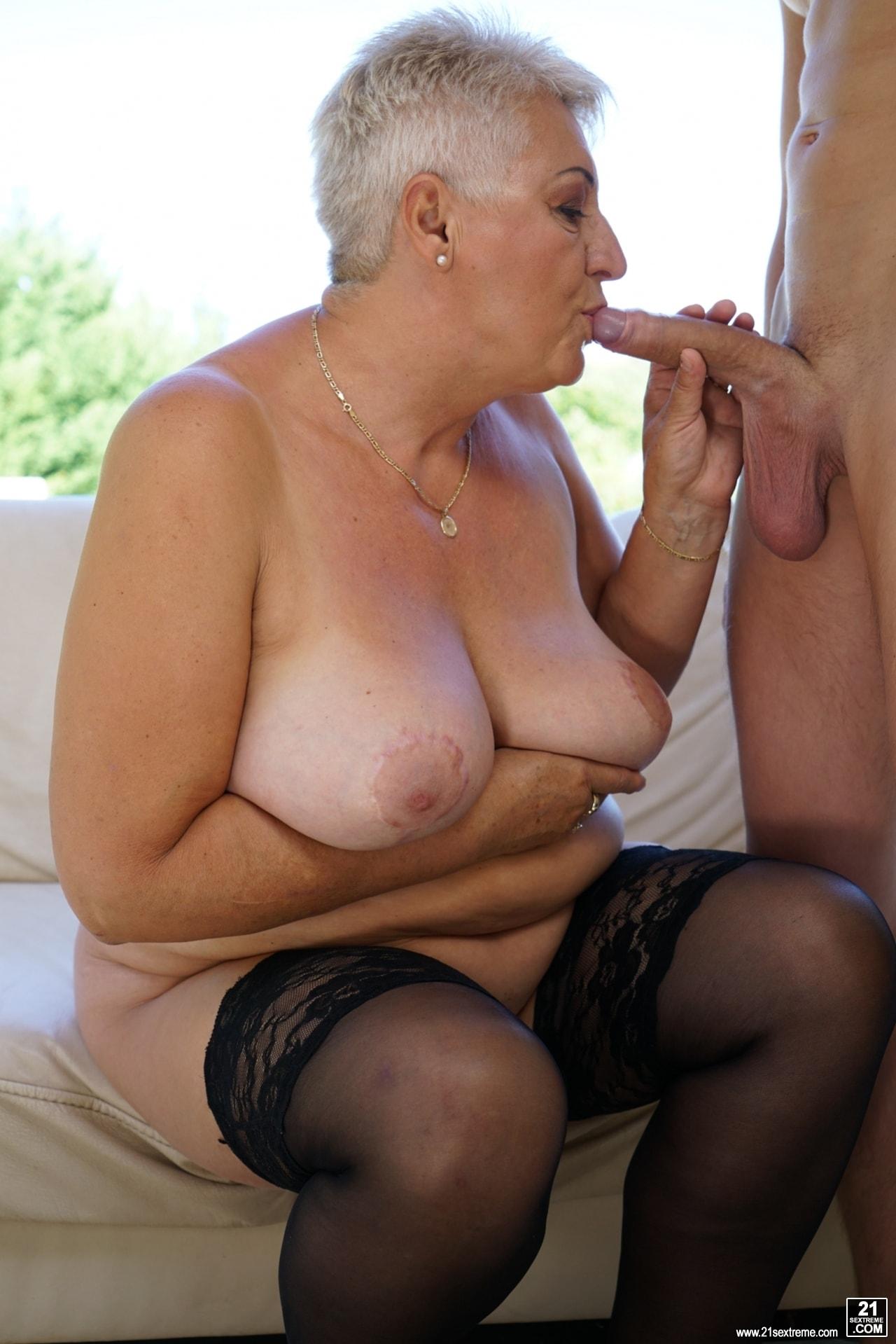 21Sextury 'Lusty Granny's Poolside Fuck' starring Astrid (Photo 126)