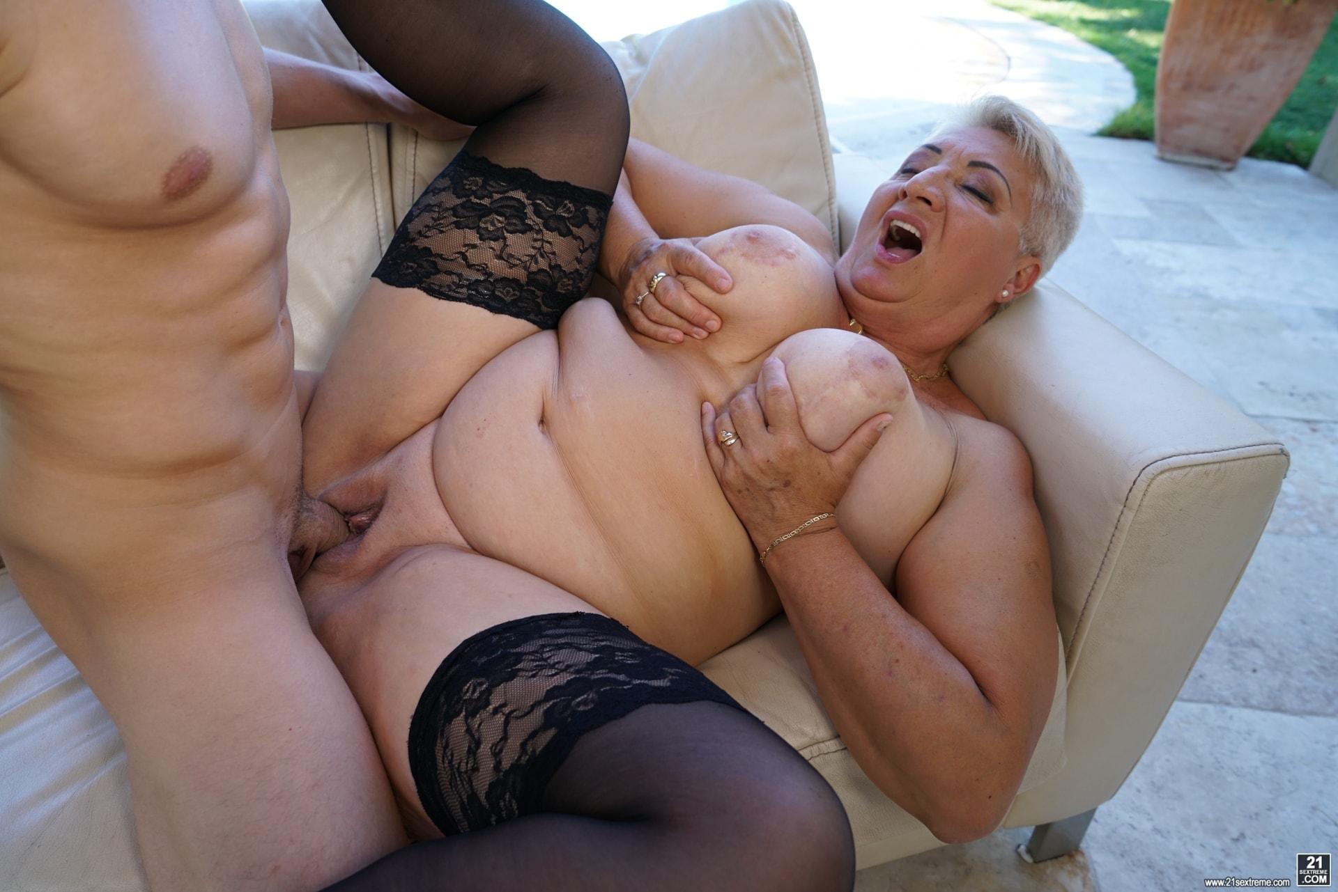 21Sextury 'Lusty Granny's Poolside Fuck' starring Astrid (Photo 216)