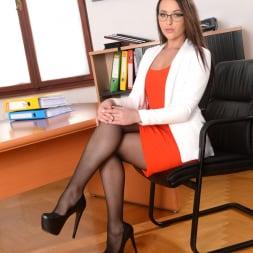 Carolina June in '21Sextury' Anal Secretary (Thumbnail 1)