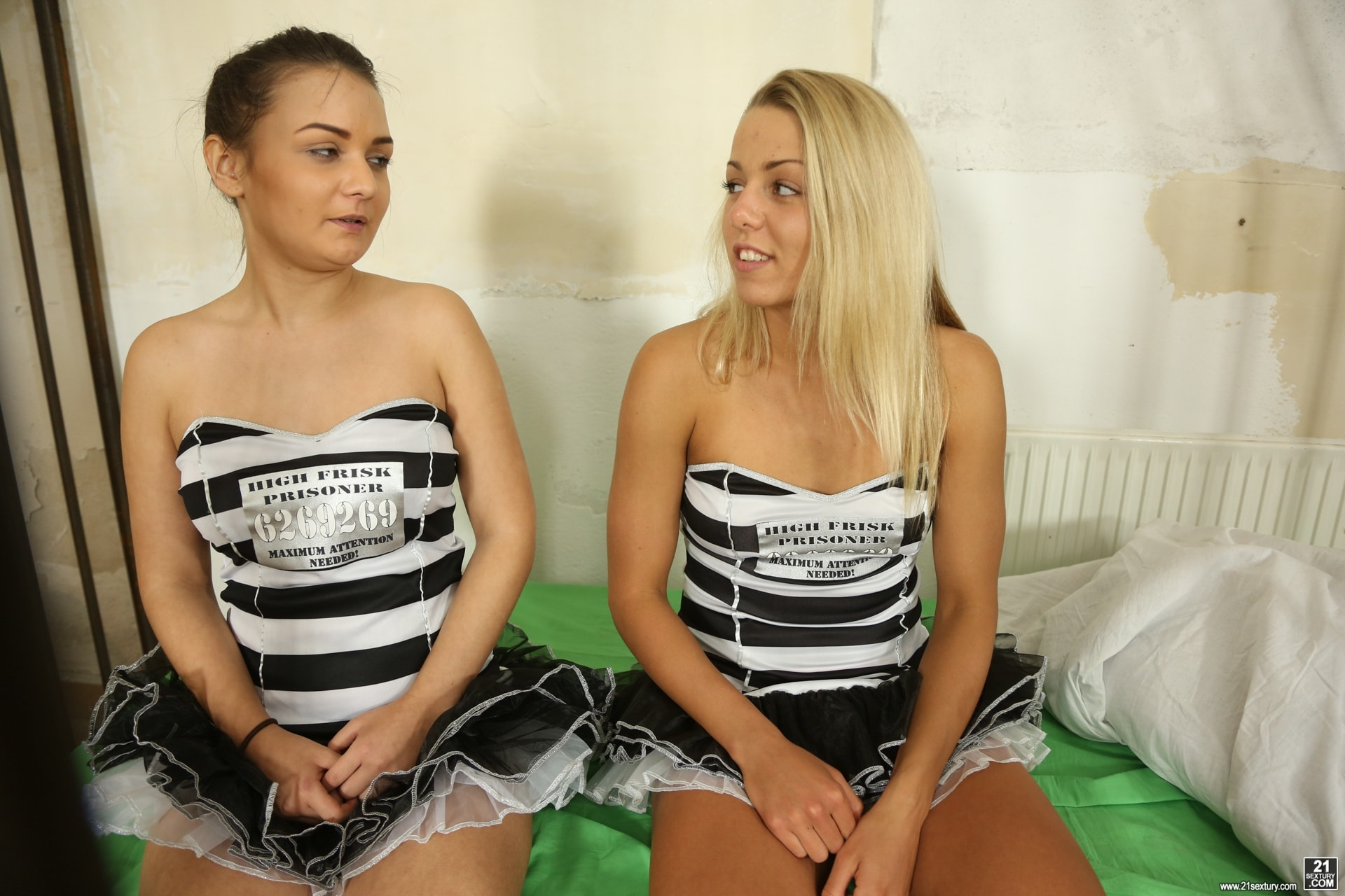 21Sextury 'High Frisk Prisoners' starring Christen Courtney (Photo 1)