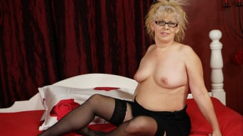 Elza in 'Naughty Granny's Sexual Pleasures'