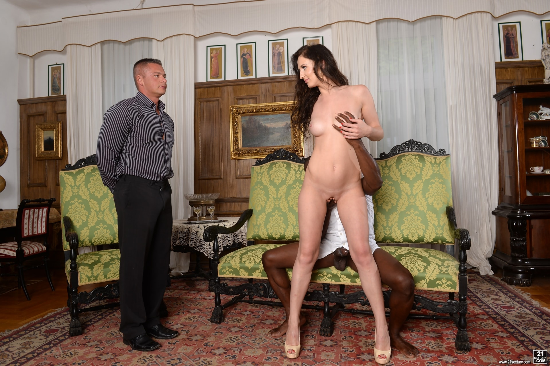 21Sextury 'Never Too Shy For a DP' starring Emily Ross (Photo 40)