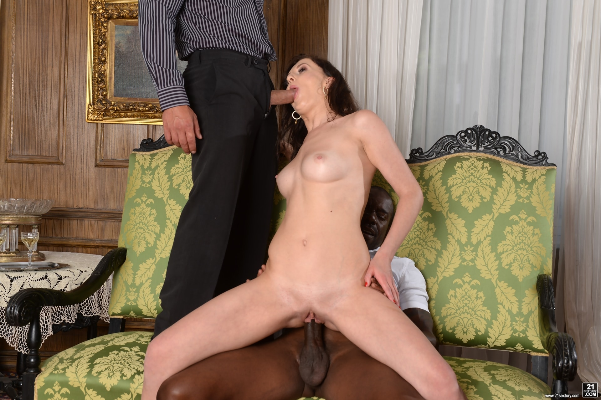 21Sextury 'Never Too Shy For a DP' starring Emily Ross (Photo 56)