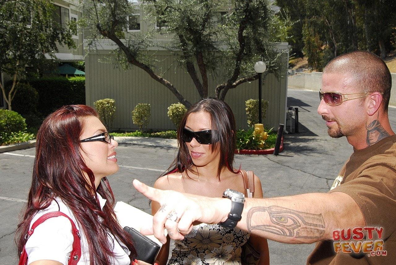 21Sextury 'Busty Rachel Starr meets Eva Angelina' starring Eva Angelina (Photo 6)