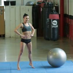 Eveline Dellai in '21Sextury' Eveline's Wrestling Mat (Thumbnail 1)