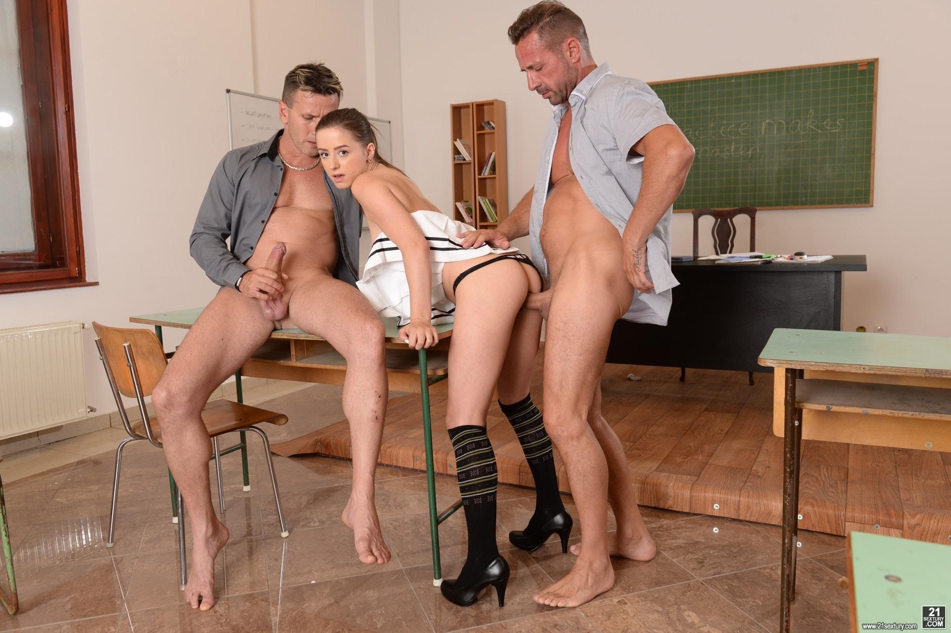 21Sextury 'Sex Ed Threesome' starring Gabriella Lati (Photo 56)
