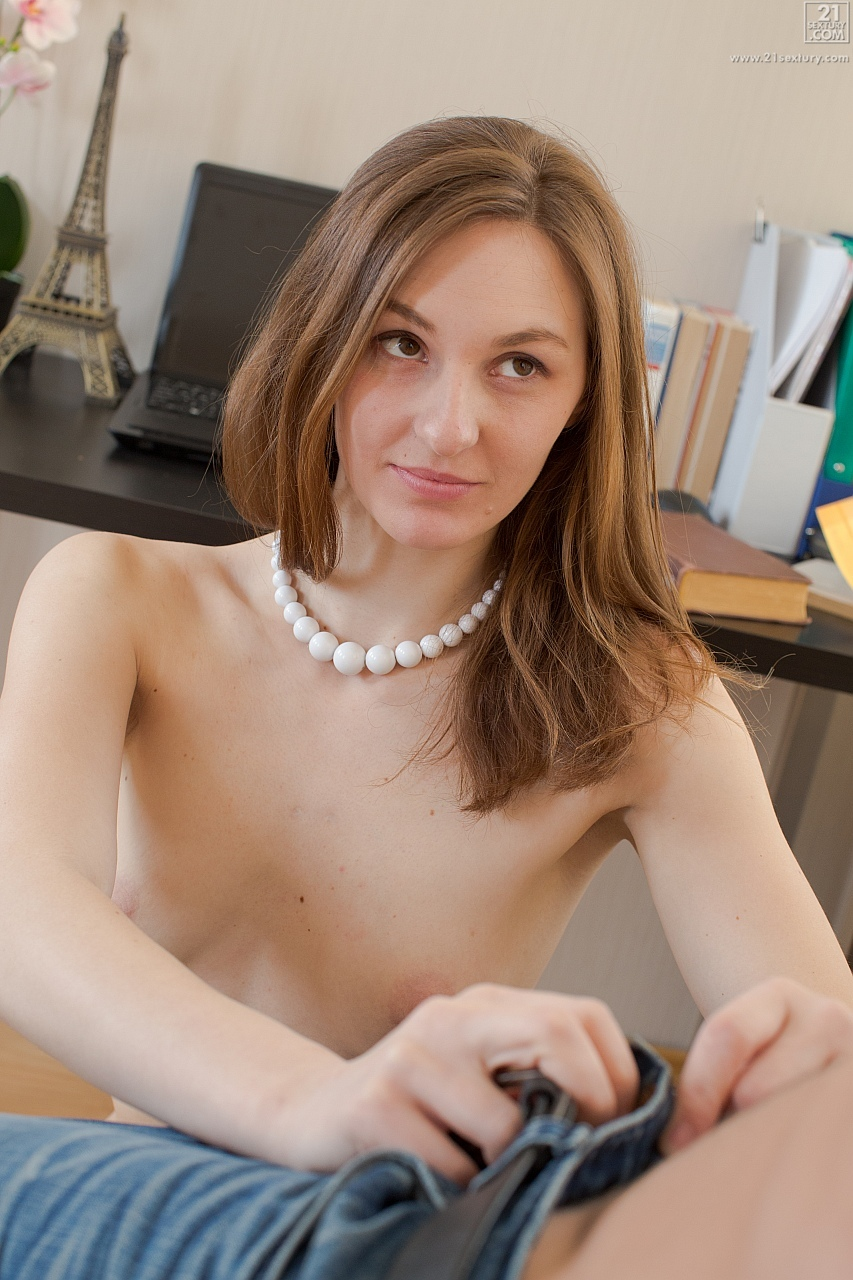 21Sextury 'Study Buddies' starring Irina Pavlova (Photo 54)