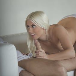Jessie Volt in '21Sextury' White Dress (Thumbnail 42)