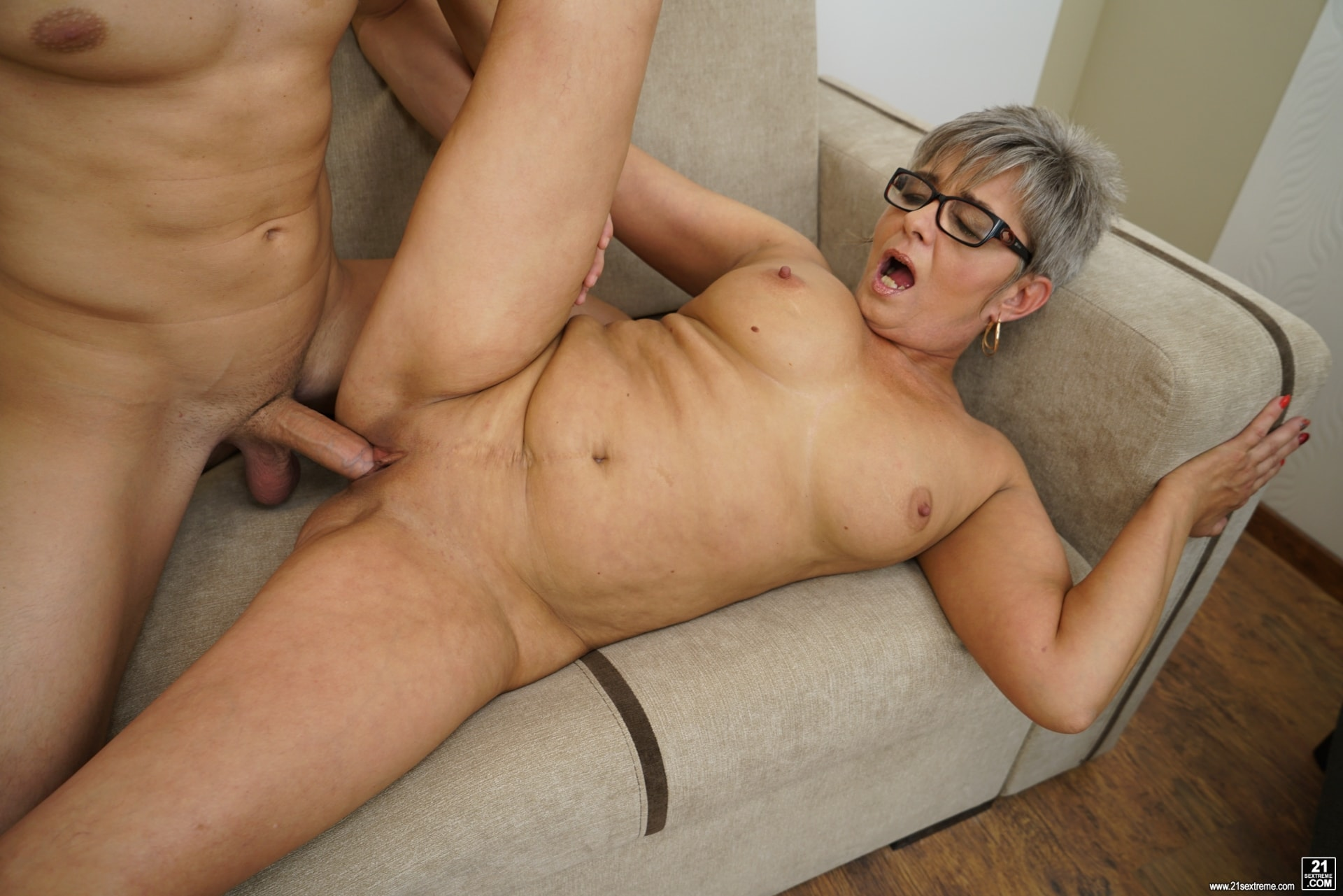 21Sextury 'The Charms Of A Granny's Pussy' starring Jessye (Photo 195)