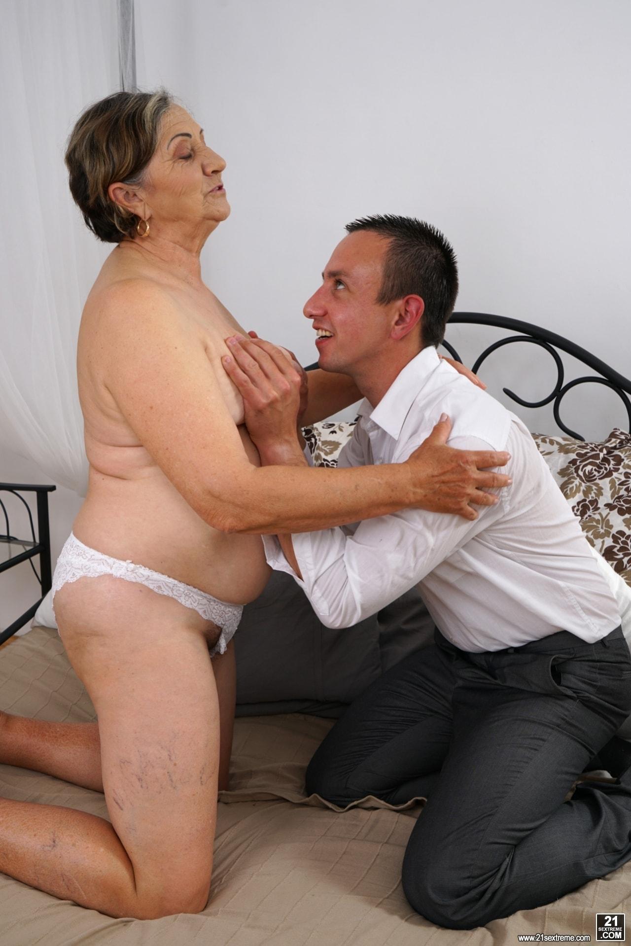 21Sextury 'Horny Hairy Granny' starring Kata (Photo 108)