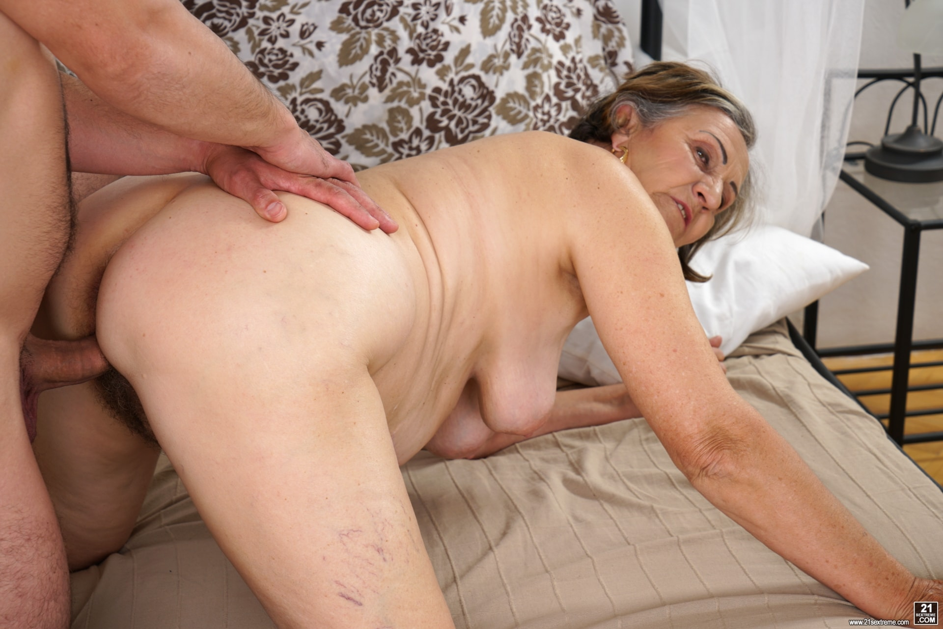 image Debra is a skinny mature redhead who loves the taste of cum