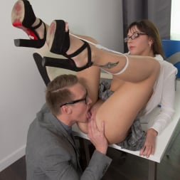 Katty Blessed in '21Sextury' Nerd Girl Fucks Prof (Thumbnail 50)