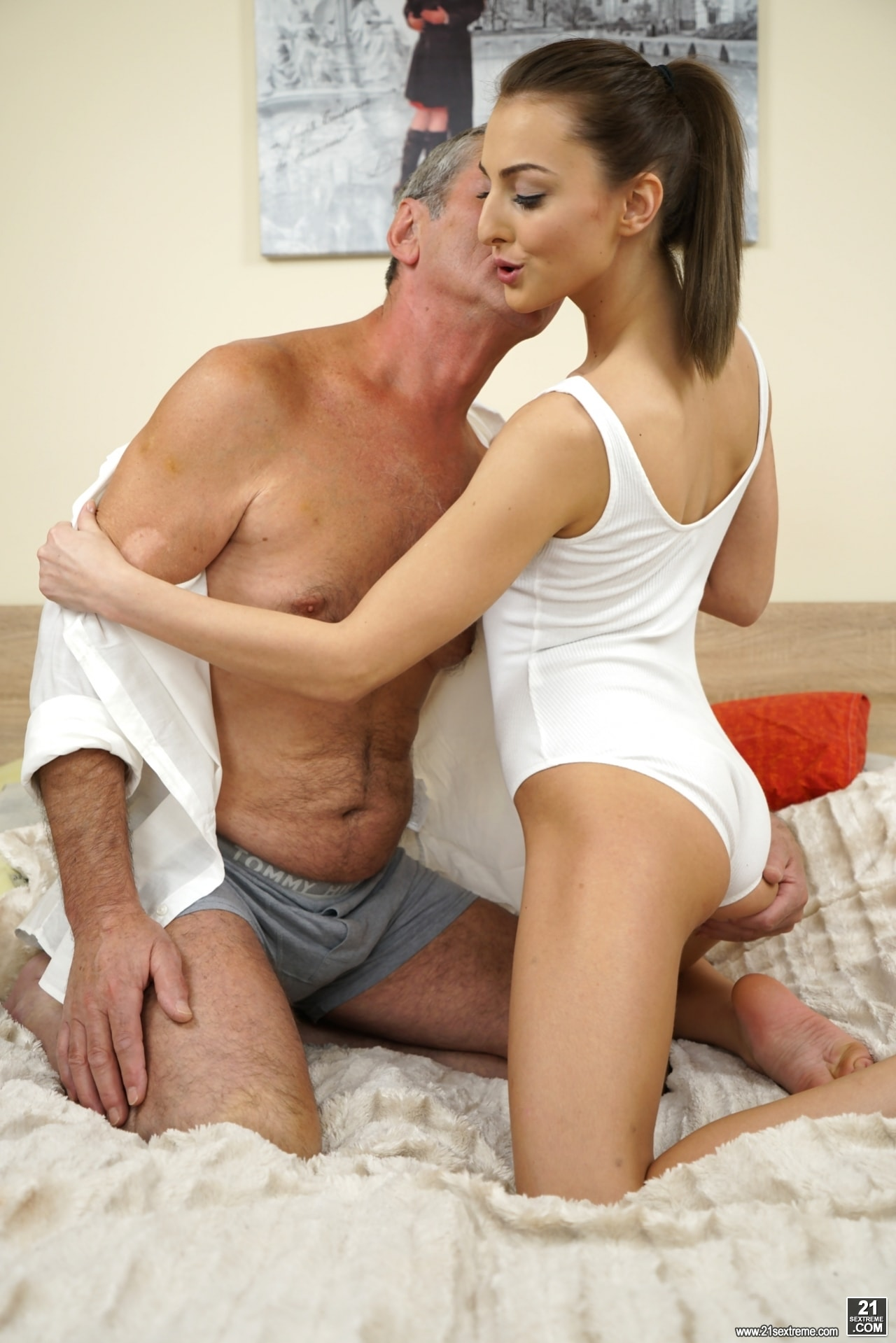 21Sextury 'Old Cock Meets Young Pussy' starring Katy Rose (Photo 44)