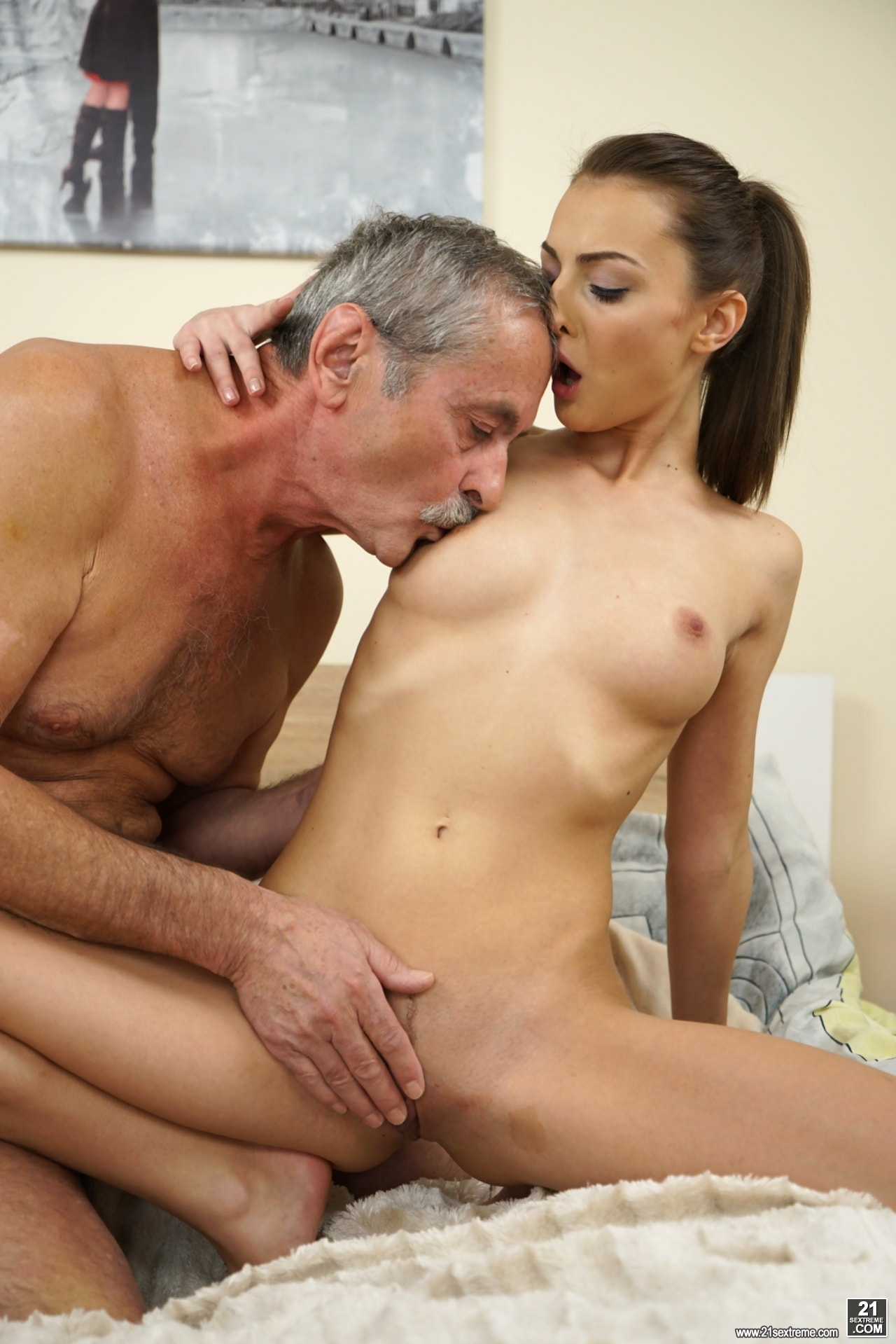 21Sextury 'Old Cock Meets Young Pussy' starring Katy Rose (Photo 55)