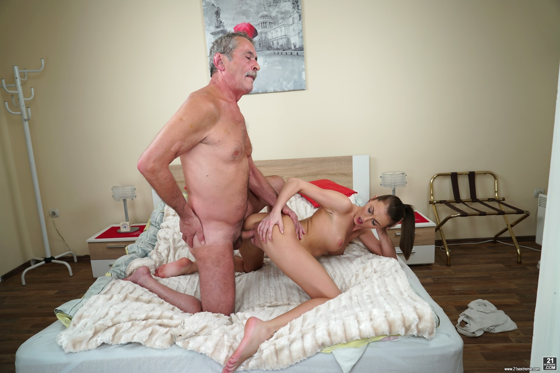 21Sextury 'Old Cock Meets Young Pussy' starring Katy Rose (Photo 143)