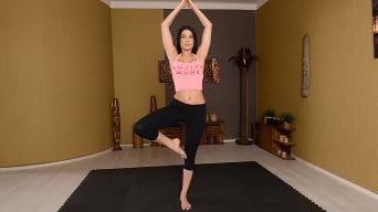Kitana Lure in 'Flexible Yoga Instructor'