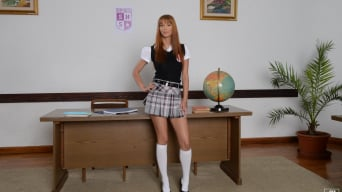Kitty Lovedream in 'Oral Exam'