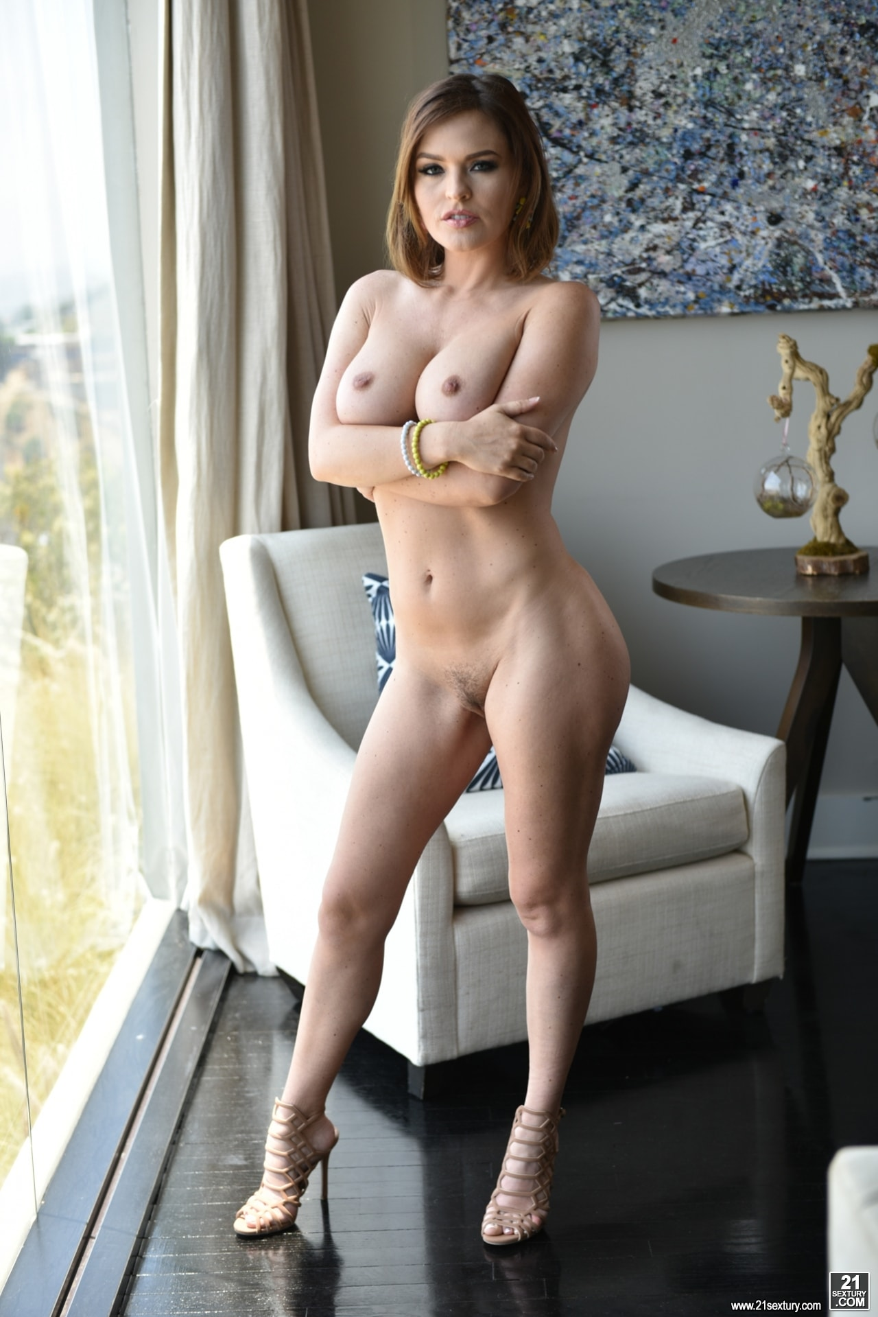 21Sextury 'Krissy's Fuck Friend' starring Krissy Lynn (Photo 44)
