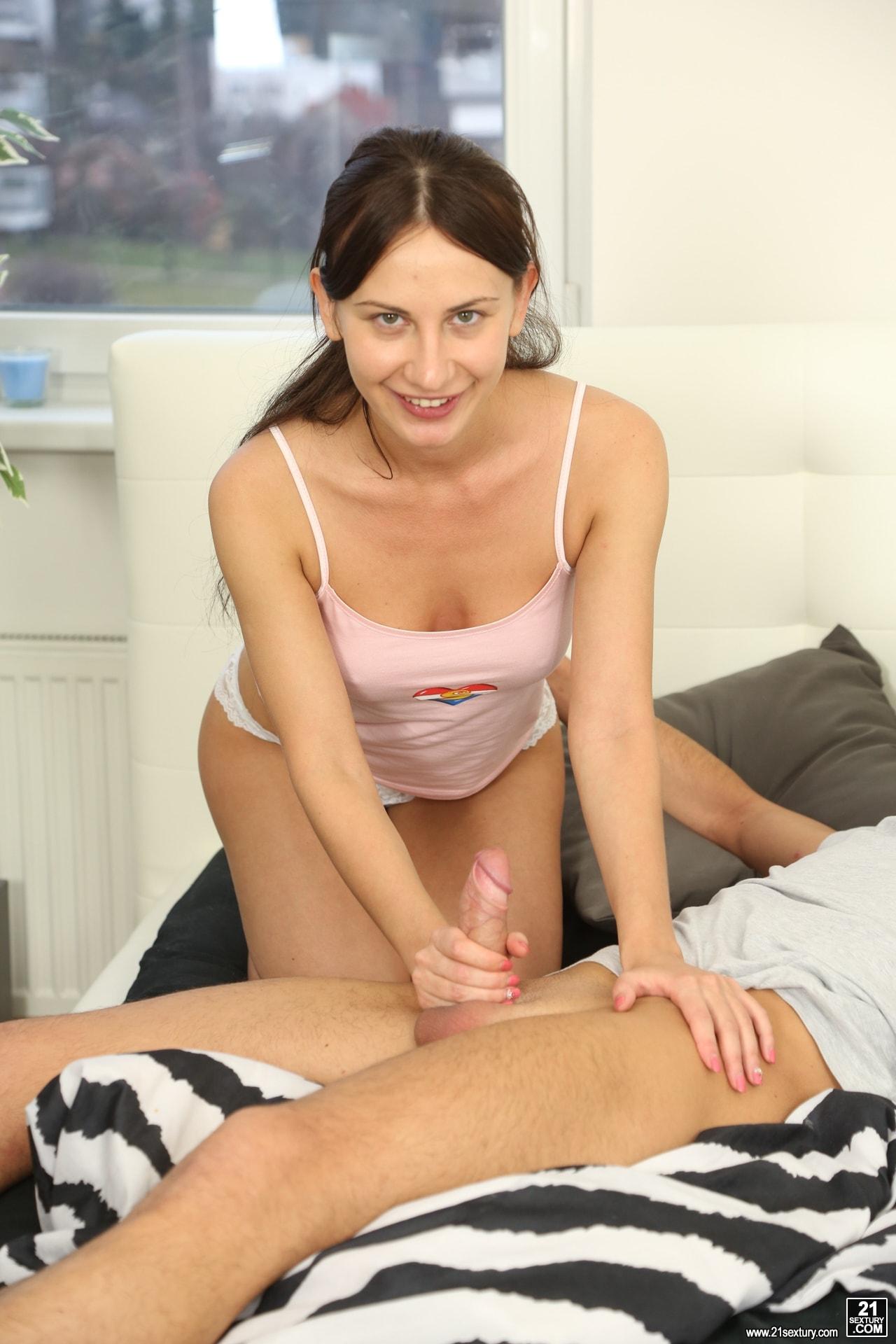 21Sextury 'Let's Watch Porn' starring Lana C (Photo 10)