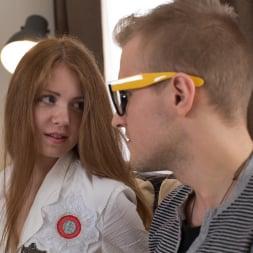 Lana X in '21Sextury' Tiny Redhead Fucks Hipster (Thumbnail 36)