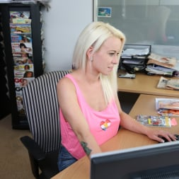 Lexie in '21Sextury' Hot Blonde's Office Fun (Thumbnail 1)