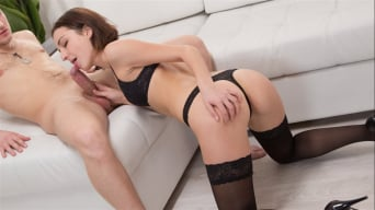 Liona Bee in 'Sexy Black Stockings'