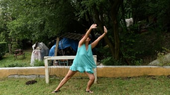 Livia in 'Nude Soccer'