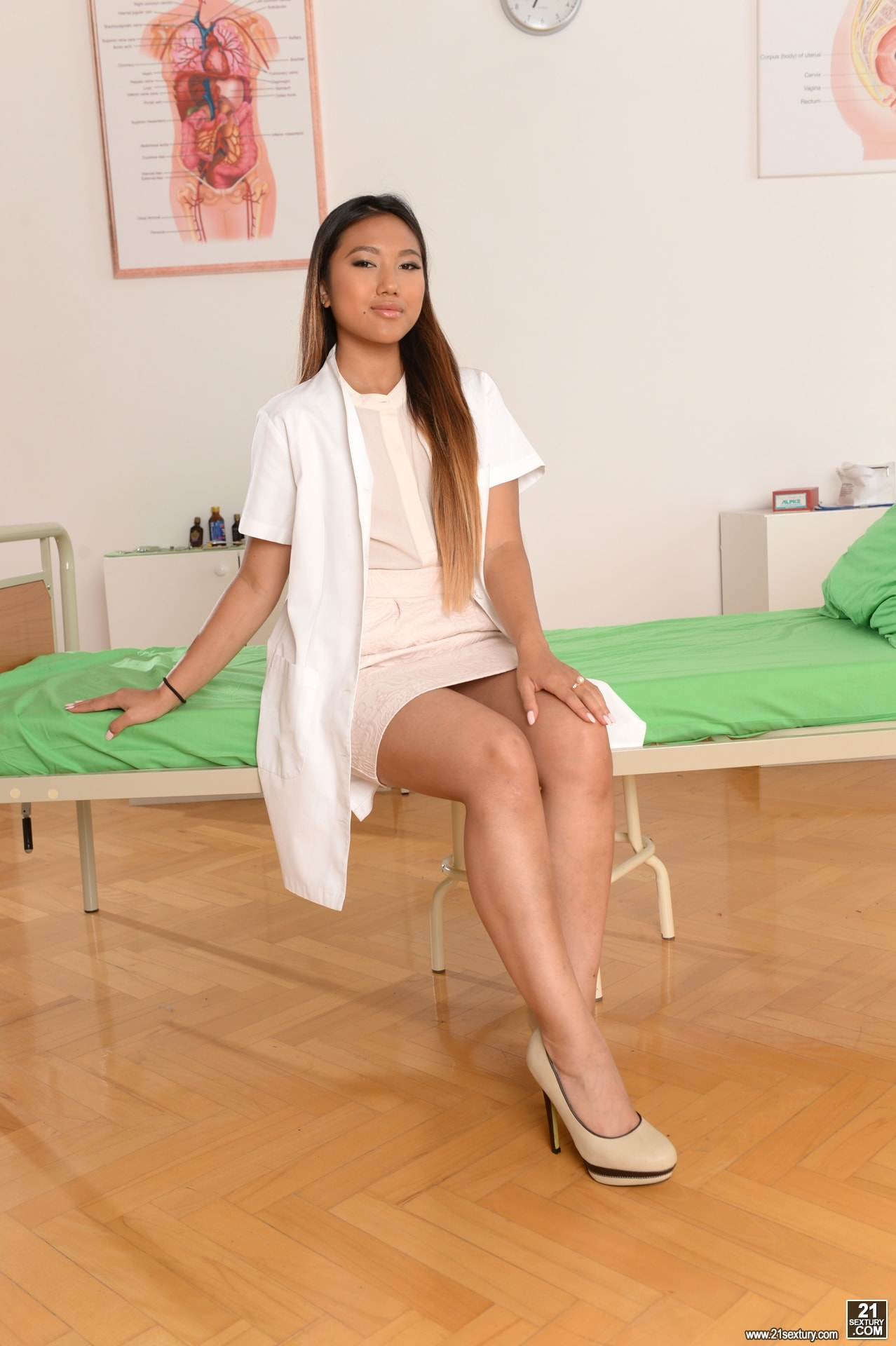 21Sextury 'Patient and Doc Double Penetrate The Nurse' starring Mai Thai (Photo 1)