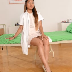 Mai Thai in '21Sextury' Patient and Doc Double Penetrate The Nurse (Thumbnail 1)