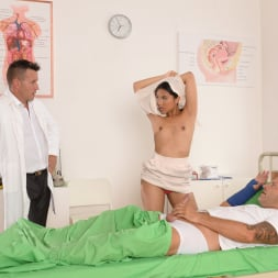 Mai Thai in '21Sextury' Patient and Doc Double Penetrate The Nurse (Thumbnail 40)
