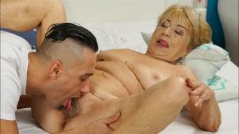 Malya in 'Cum On Granny!'