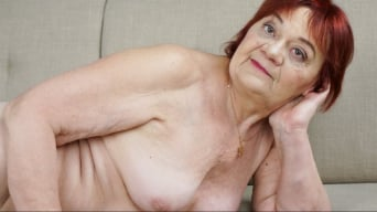 Marsha in 'Redheaded Granny Wants Some Cock'