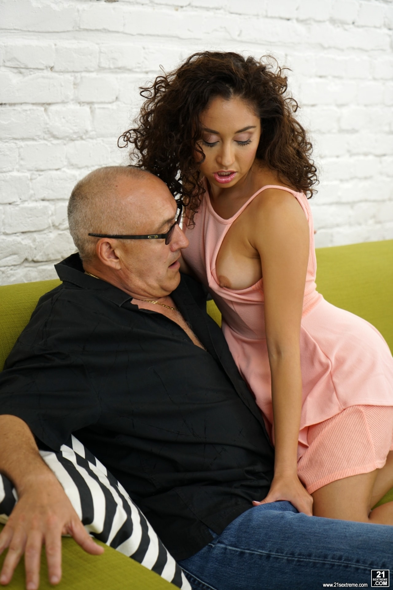 21Sextury 'Petite Melody and Big Bruno' starring Melody Petite (Photo 60)